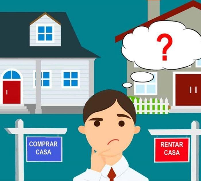 difícil decisión que es mejor comprar o rentar una casa